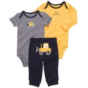 Baby Boys Carters I Dig Auntie Outfit Set - Sz 6 mo
